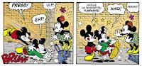 Topolino incontra Topolino: i due disegni di Casty e Bonfatti a confronto