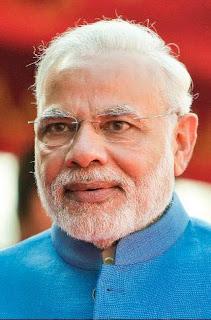 ناريندرا مودي رئيس وزراء الهند.
