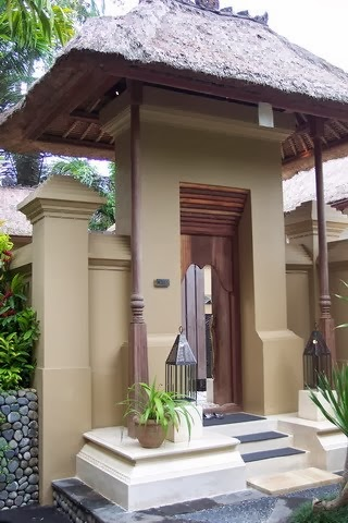 Tropical Bali Design Angkul Angkul The Balinese