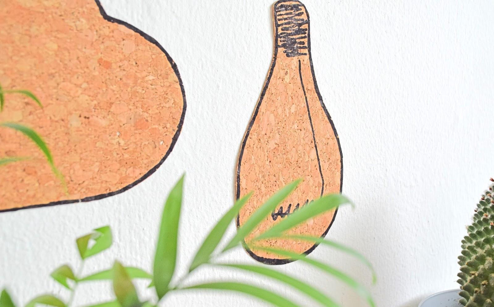 Pomysły na ścianę z korka