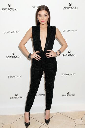 HAILEE STEINFELD INTRODUCES SWAROVSKI'S CRYSTALDUST COLLECTION