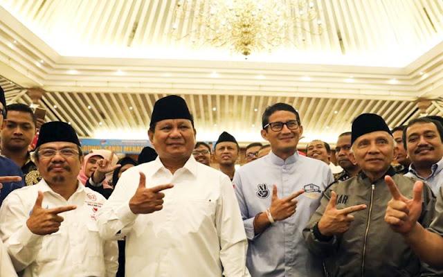 Tim Prabowo Lakukan Survei Sendiri, Tebak Siapa Pemenangnya?