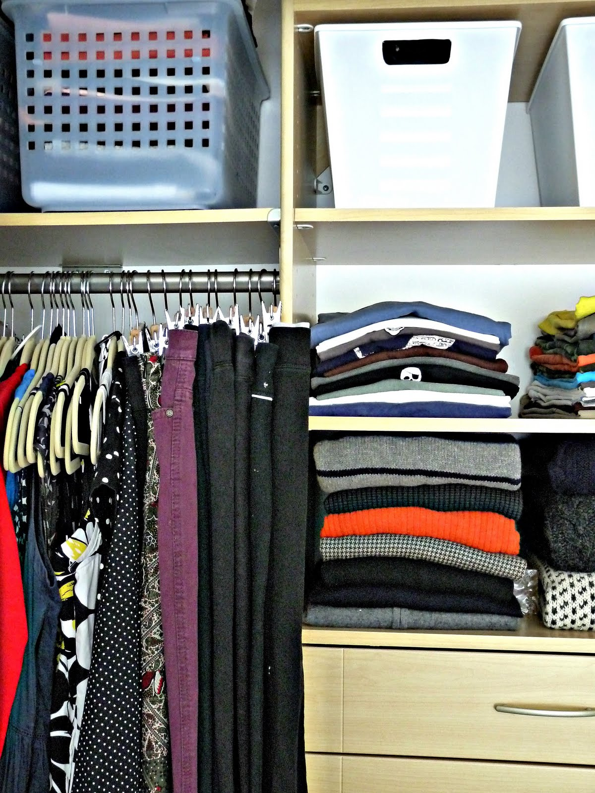 Closet Overhaul Life Without A Dresser Dans Le Lakehouse