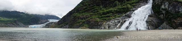 Mendahall Glacier, 朱諾冰川