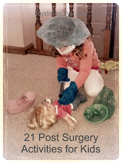 after surgery activities for kids