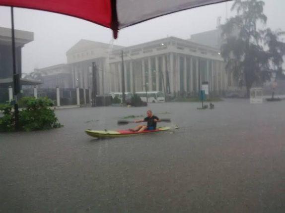 Flood, News, Victoria island,