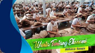 Warta Bahasa Sunda Tentang Bisnis dan Industri Tembakau Terhadap Kemajuan Perekonomian Nasional