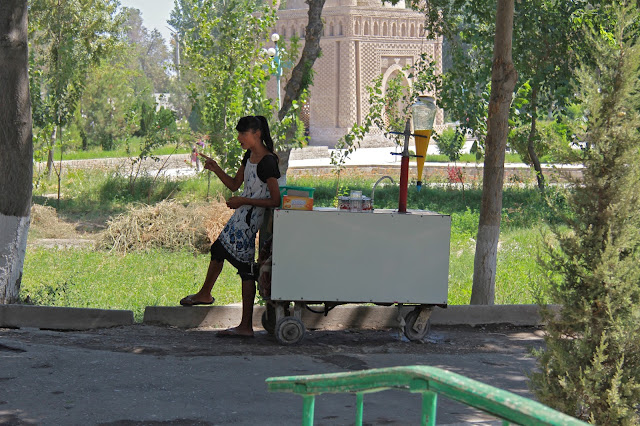 Ouzbékistan, Boukhara, Parc des Samanides, © L. Gigout, 2012