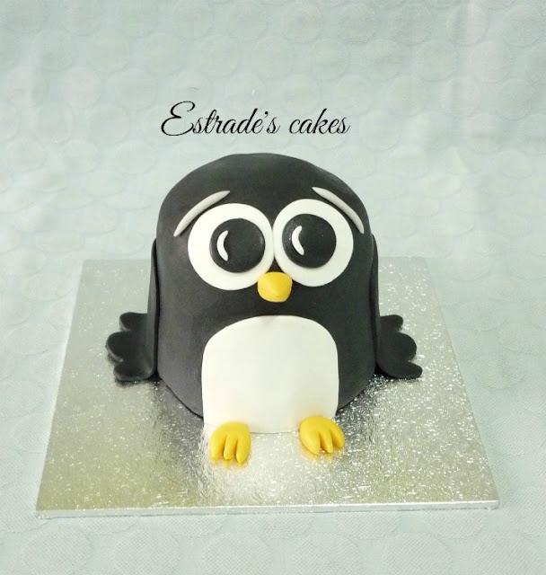 tarta de pingüino 4