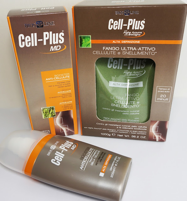 Cell Plus® - Anti Cellulite Algenfango und Booster Creme