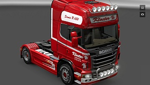 Scania R Kloster skin