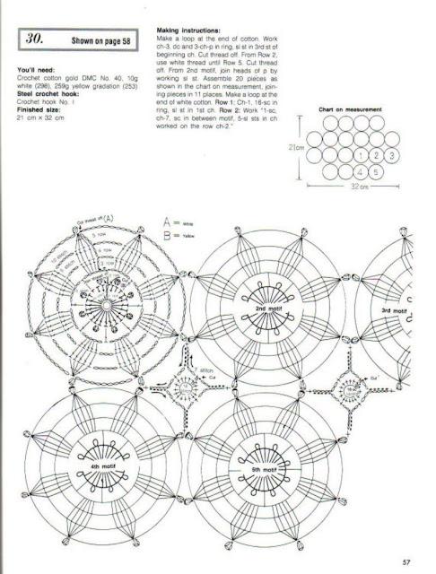 World crochet: Motive 147
