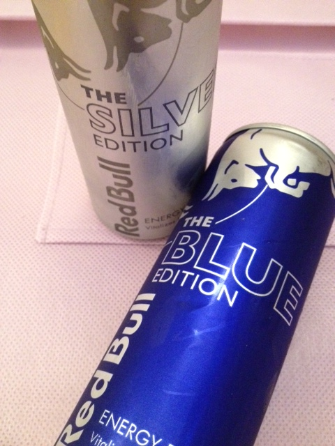 creamy steaks red bull silver edition red bull blue edition. Black Bedroom Furniture Sets. Home Design Ideas