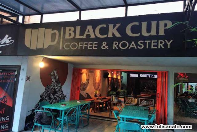 Tempat Kopi Black Cup Coffee dan Roastery di Manado