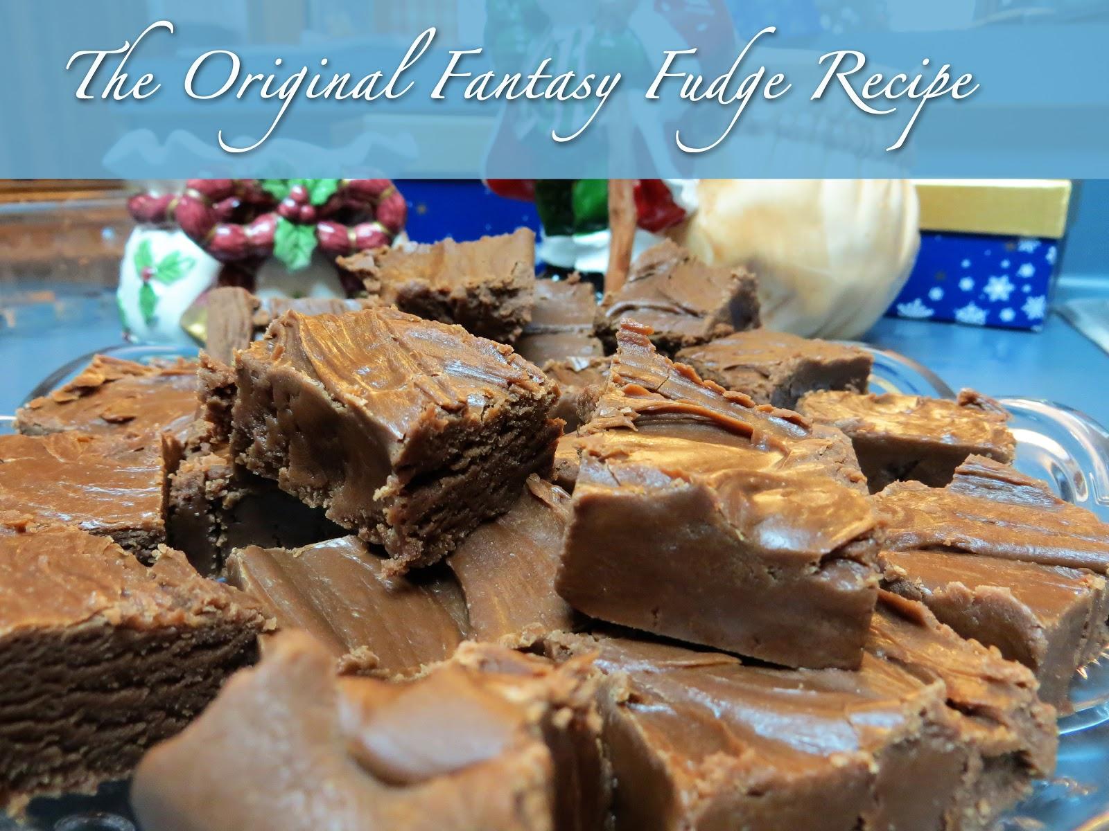 Original fantasy fudge