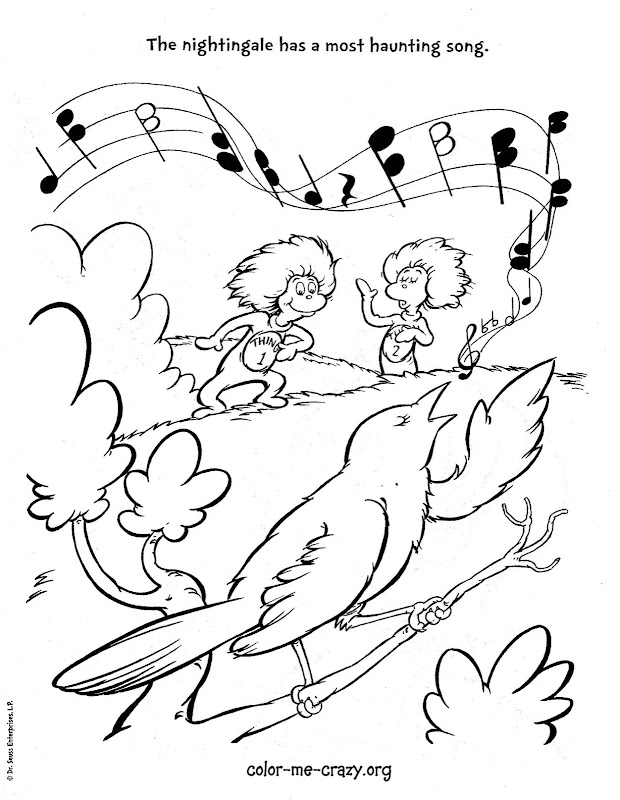 Coloring Pages For Cat In The Hat ~ Top Coloring Pages