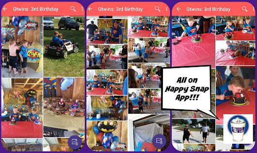 UPDATE: Gtwins turn 3 - SUPERHERO BIRTHDAY