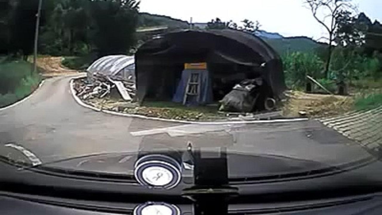 Korean woman fails driving test
