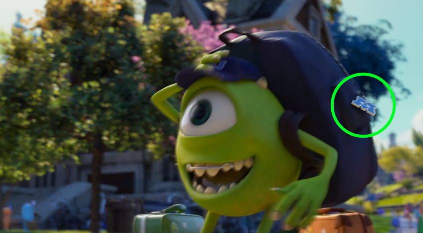 Monsters University - An In-Depth Look at the Hidden Items
