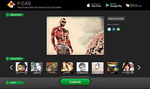 حول صورك إلى مرسومة ولوحات فنية في ثواني دون الحاجة لتسجيل حساب