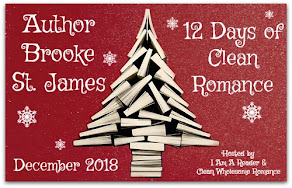12 Days of Clean Romance featuring Brooke St. James – 4 December