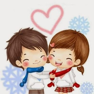 Romantic Love Cartoons Images, Whatsapp DP, Profile Pictures