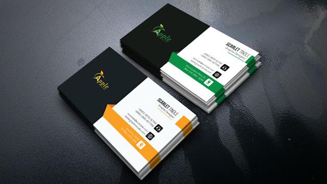best business card design tutorial in photoshop cc