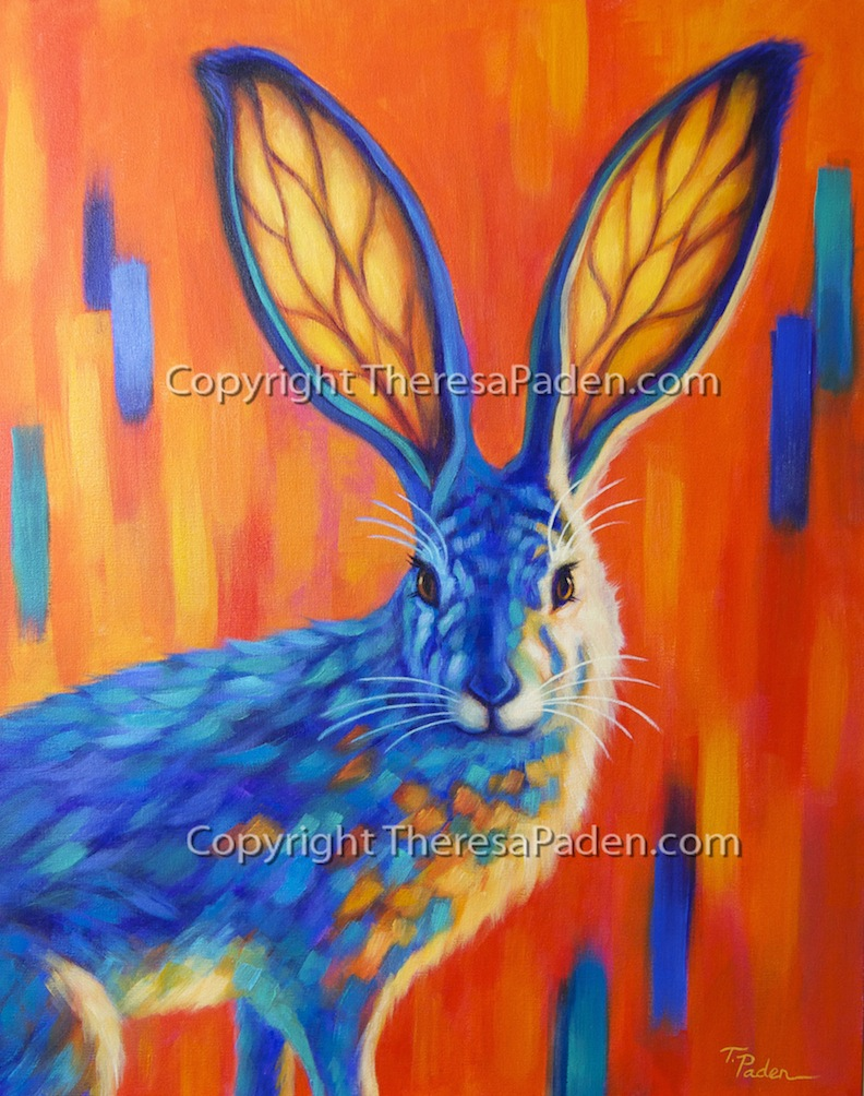 Paintings By Theresa Paden Fun Bright And Colorful Animal