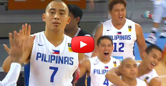 2014 FIBA Asia Cup: PHILIPPINES def. CHINA - Game Highlights (VIDEO) Battle for 3rd