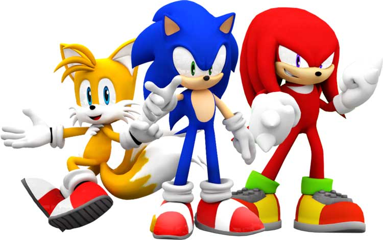 Team Sonic Tails Knuckie