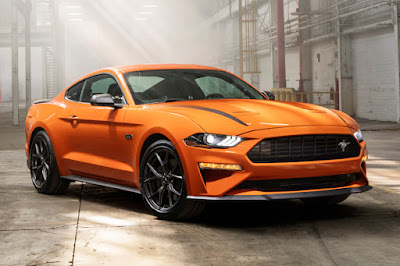 Ford Mustang EcoBoost with 2.3L High Performance Package (2020) Front Side