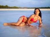 sexy bikini beach babe