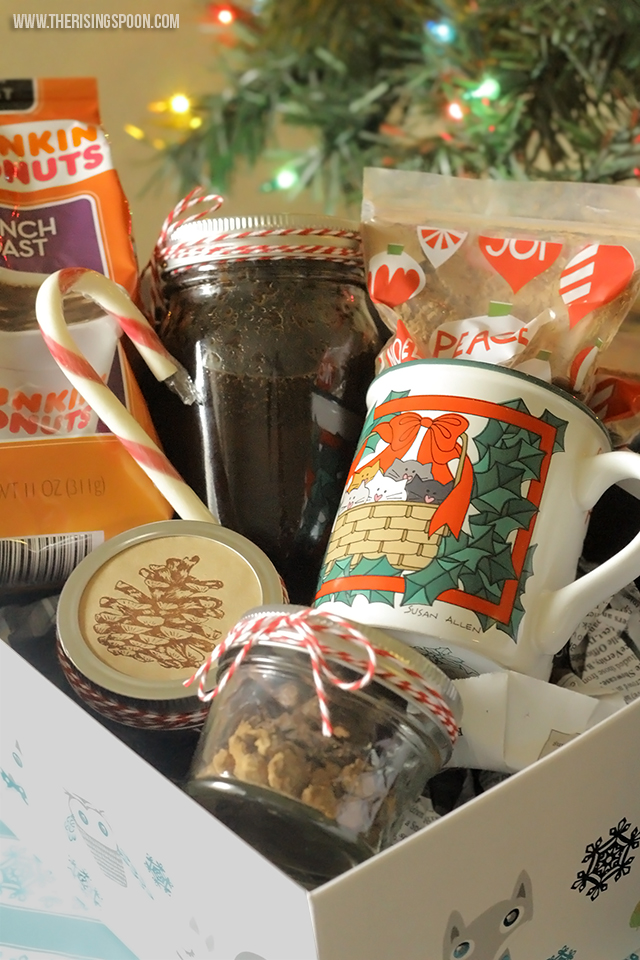 DIY Coffee Lover's Gift Basket