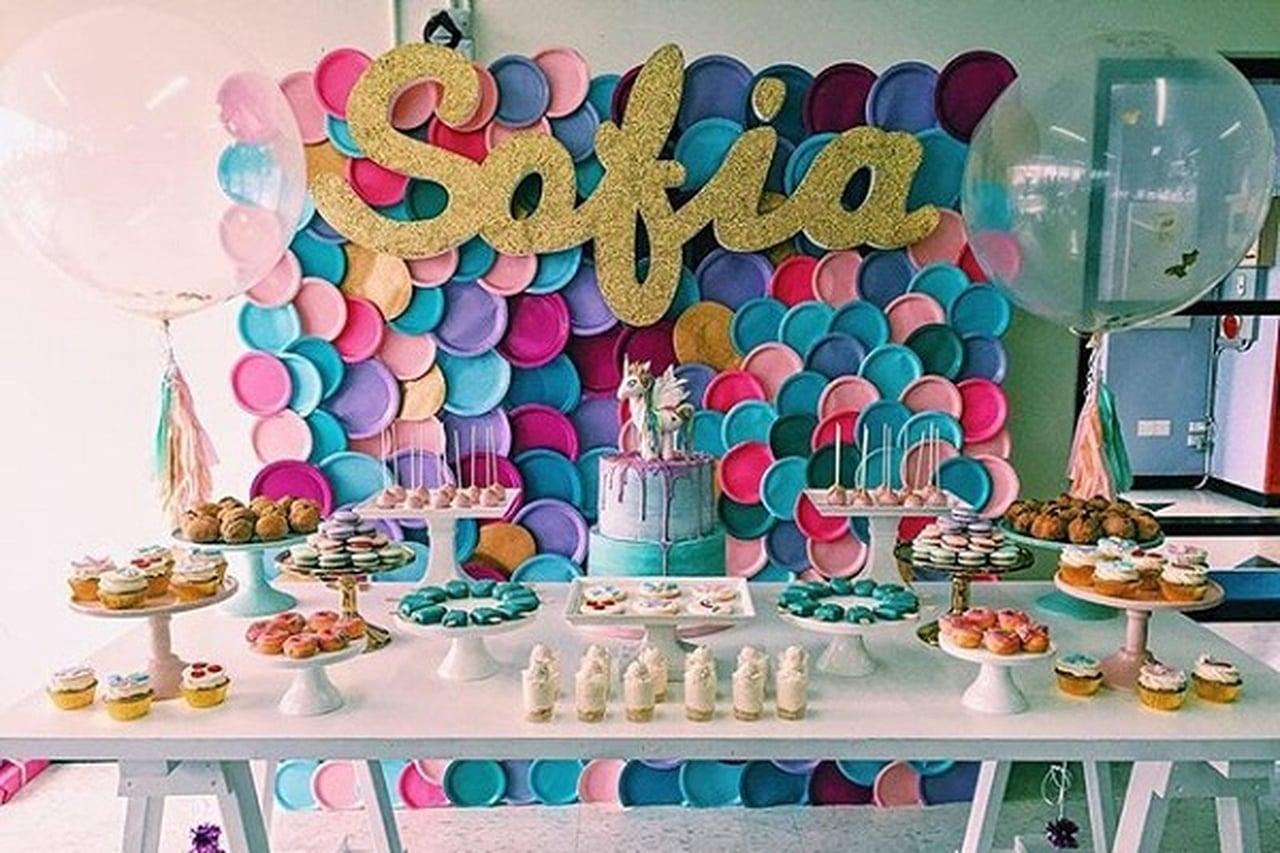 decoration anniversaire 3 ans fille