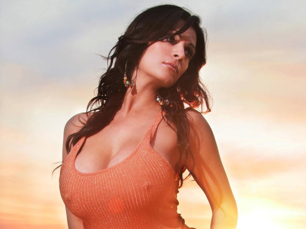 Denise Milani Hard Nipples 21