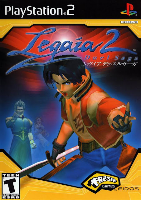 Legaia 2 Duel Saga ps2 iso rom download