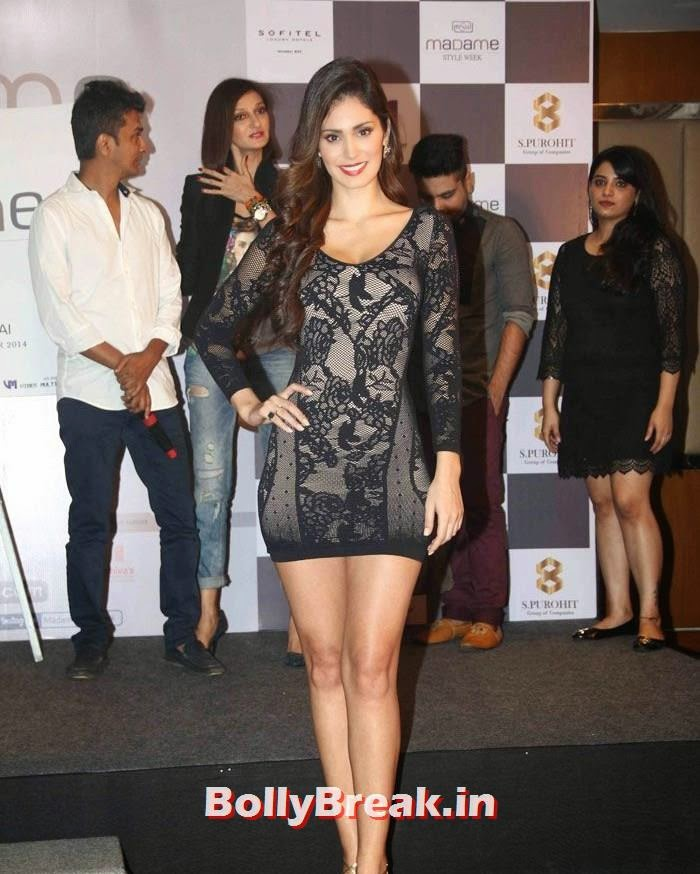 Bruna Abdullah, Bruna Abdullah in Black Short Dress
