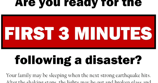 The Power of 3: An Emergency Preparedness Guide