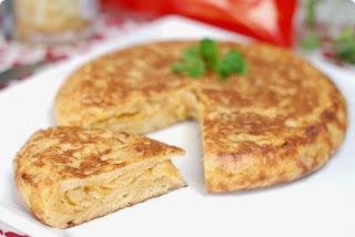 Tortilla de patatas - Spanyol