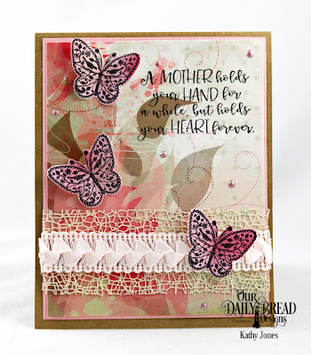 Our Daily Bread Designs Stamp/Die Duos: The Greatest Gift, Paper Collection: Beautiful Blossoms