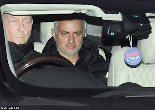 jose mourinho and manchester united sack