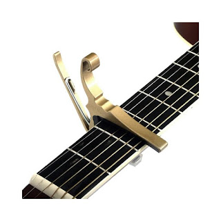 guitar transpose using a capo