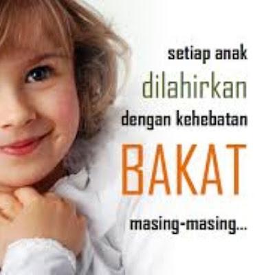 Biarkan Anak Berkembang Sesuai Bakat dan Minatnya
