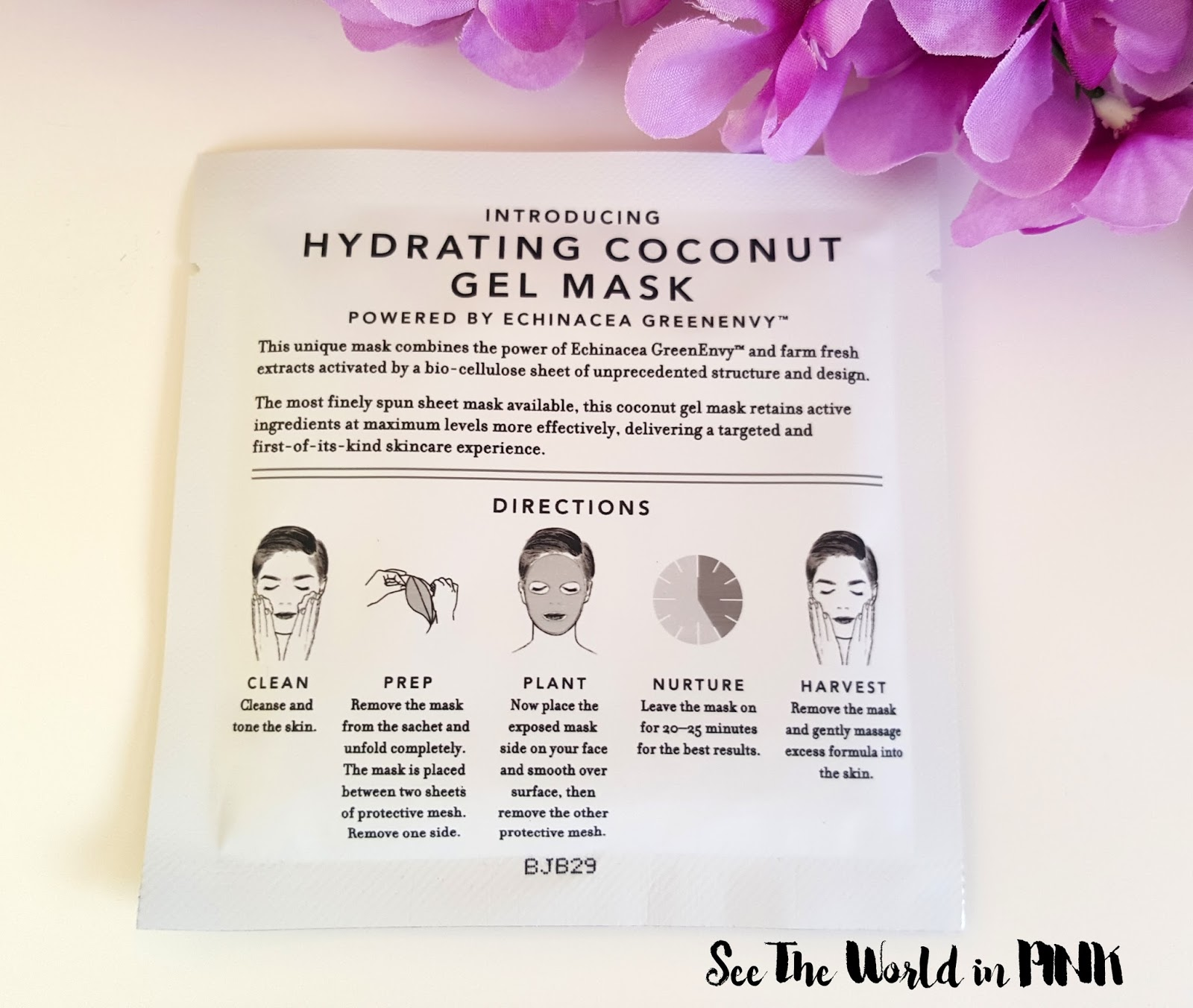 "Farmacy Hydrating Coconut Gel Mask ""Brightening"" (Purple Broccoli)"