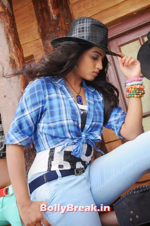 , Dimple Chopade Hot Pics in Blue Jean, Cowboy Hat