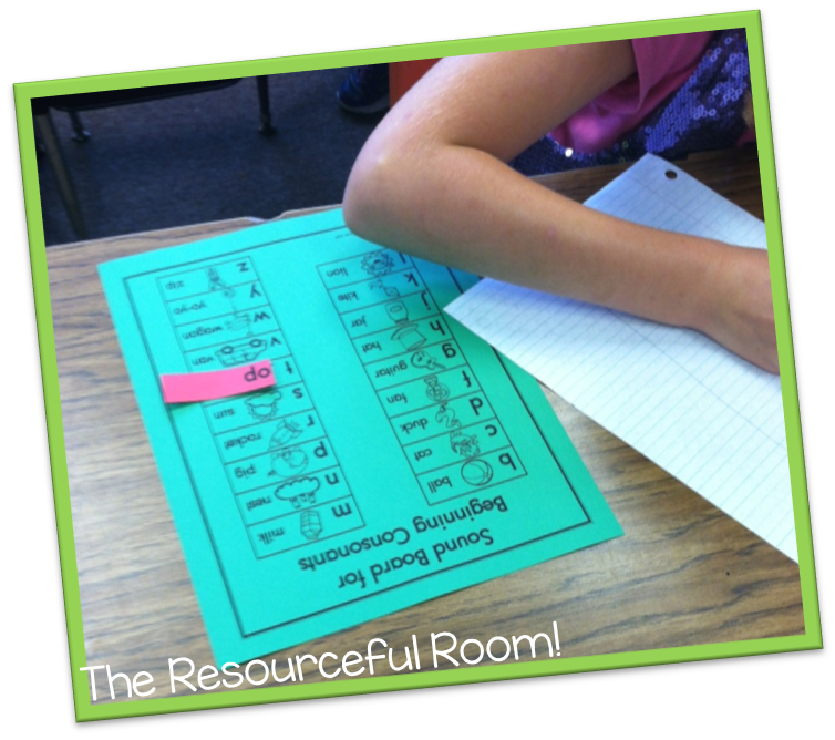 Off to a Great Start! - The Resourceful Room!