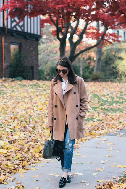 Camel Coat for Fall