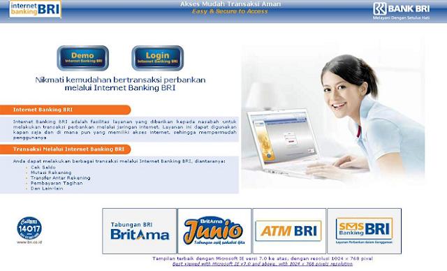 Cara Membuat Internet Banking BRI