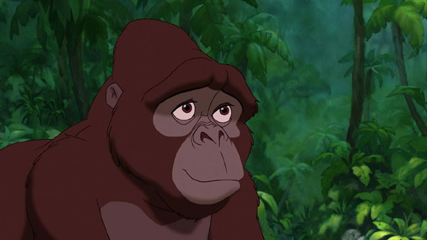 Kala (voiced by Glenn Close) in Disney's Tarzan