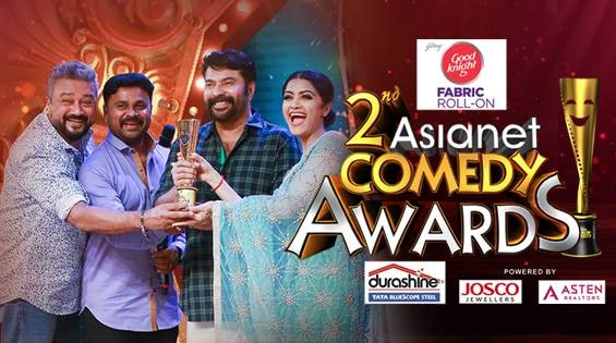 2nd Asianet Comedy Awards 2016